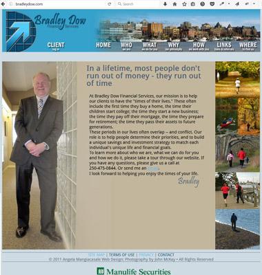 Bradley Dow financial services website (bradleydow.com) link